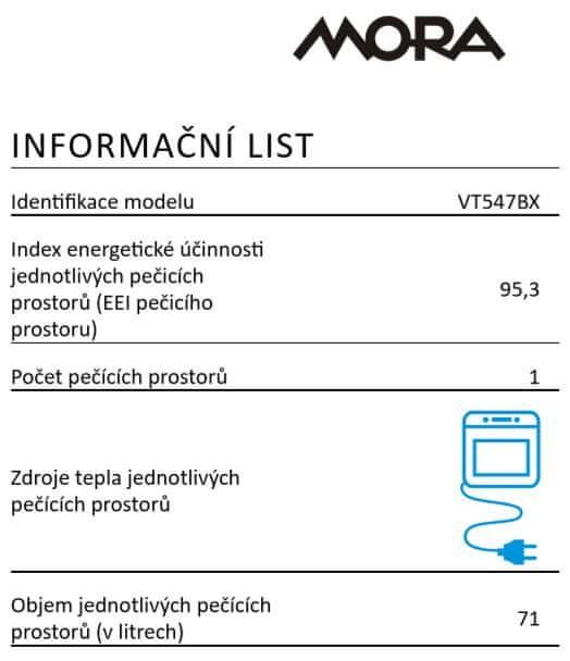Mora VT 547 BX