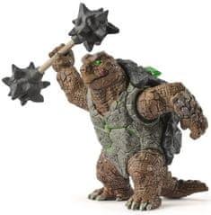 Schleich Obrnená korytnačka so zbraňou