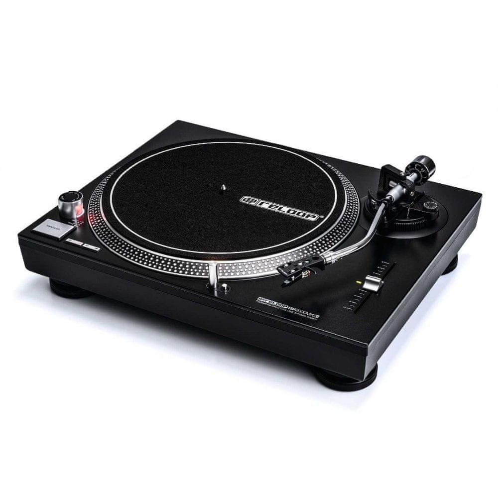RELOOP RP-2000 USB MK2 DJ gramofon s přímým náhonem