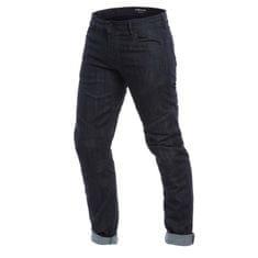 Dainese pánské kalhoty - jeans na motorku  TODI SLIM tmavý denim, aramid