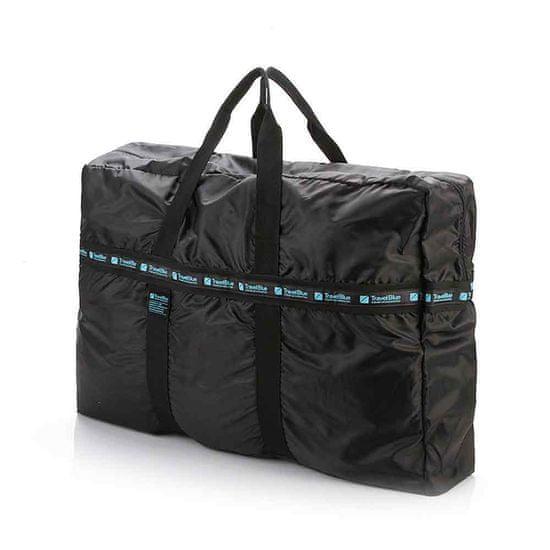 TravelBlue zložljiva torba za dodatno torbo, črna