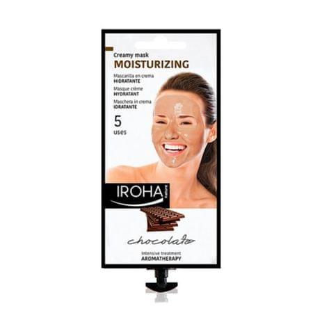 Hidratáló aromaterápiás krém-maszk kakaó kivonattal és sheavajjal(Moisturizing Creamy Mask Chocolat