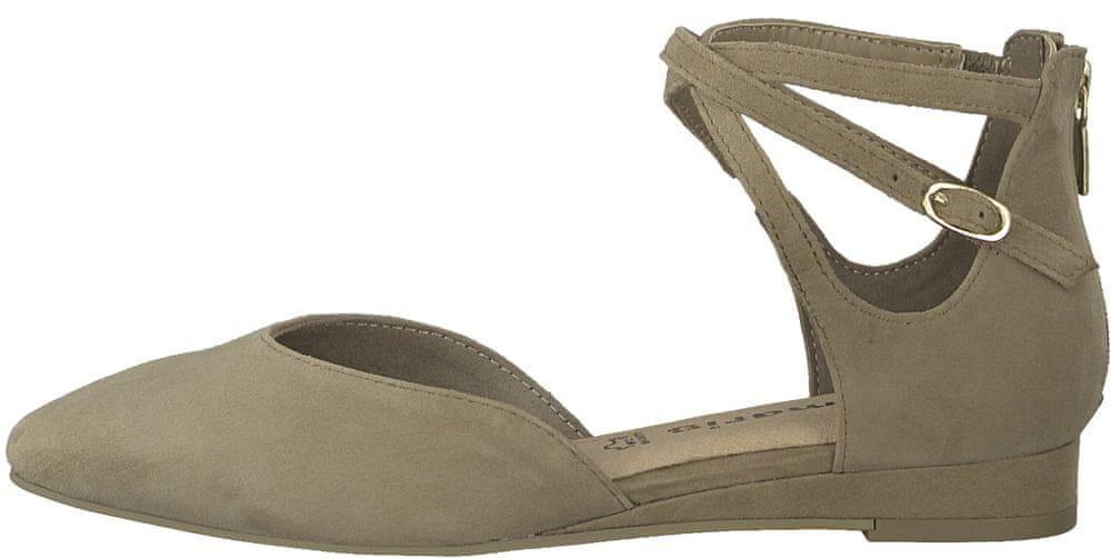 Tamaris dámské sandály 39 hnědá