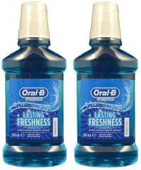 Oral-B Ústní voda 2 x 250 ml Lasting Freshness