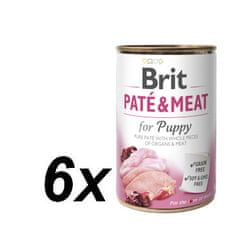Brit Paté & Meat Puppy 6 x 400g