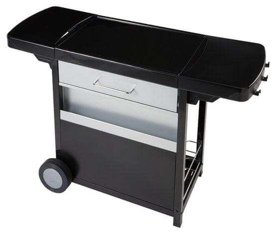Campingaz miza za žar BBQ ACCY, Premium Plancha Trolley - Odprta embalaža