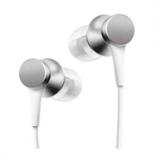Xiaomi Mi In-Ear, strieborná 14274
