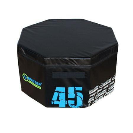 Master Tréninkový plyo box - 45 cm