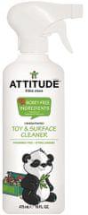 Attitude Čistiaci prostriedok na detské povrchy/hračky bez vône s rozprašovačom 475 ml