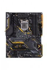 Asus osnovna plošča TUF Z390-Plus Gaming, WiFi, DDR4, USB 3.1 Gen2, LGA1151, ATX