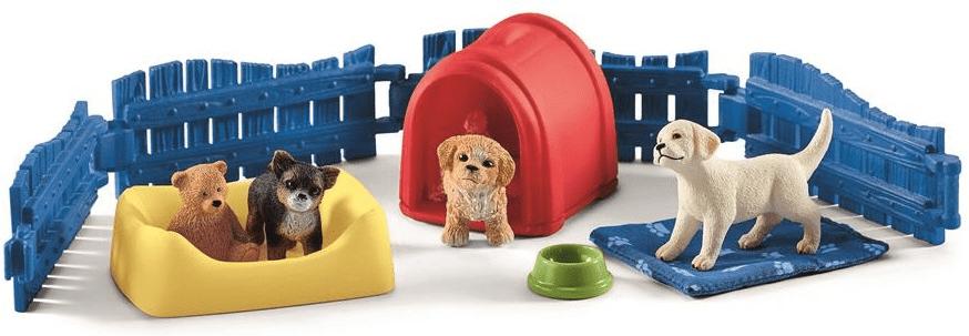Schleich Pokojíček pro štěňata