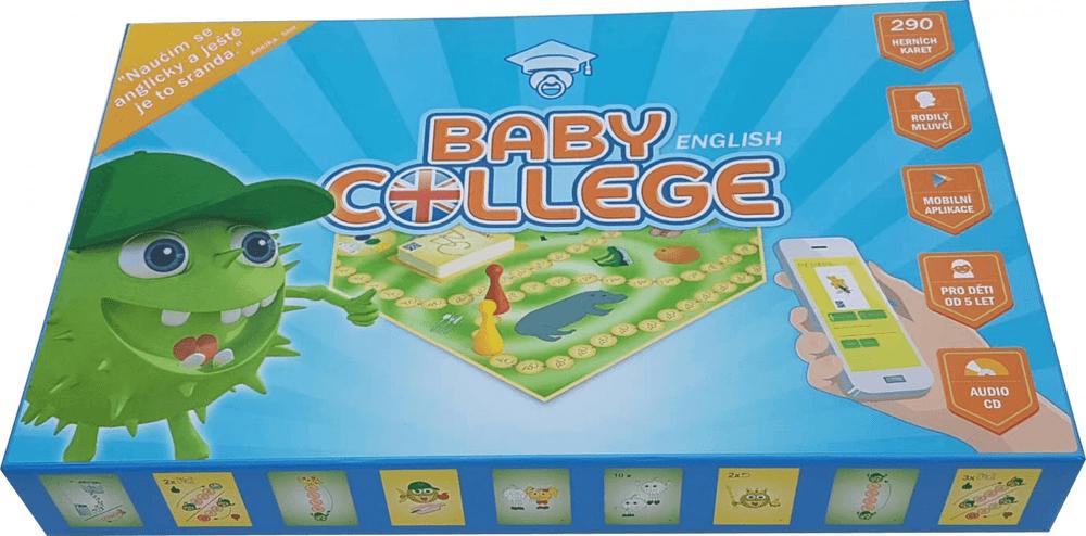 Teddies Baby College English - stolní naučná hra s CD