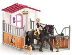Schleich Istálló, ló, Tori + Princess