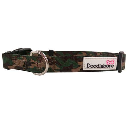Doodlebone ovratnica Army, XS