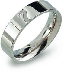 Boccia Titanium Snubný titánový prsteň 0147-02