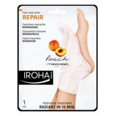 Regenerační maska na nohy a nehty sbroskvovým sérem (Repair Foot Mask Socks Peach) 2 x 9 ml