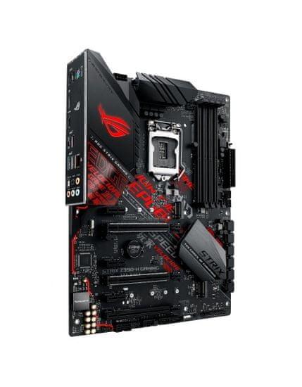 Asus osnovna plošča ROG STRIX Z390-H GAMING, DDR4, USB 3.1 Gen 2, LGA1151, ATX