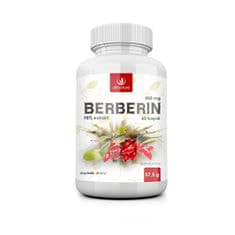 Allnature Berberin Extrakt 98 % 500 mg 60 kapslí