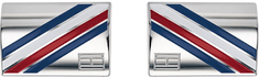Tommy Hilfiger Oceľové manžetové gombíky TH2790039