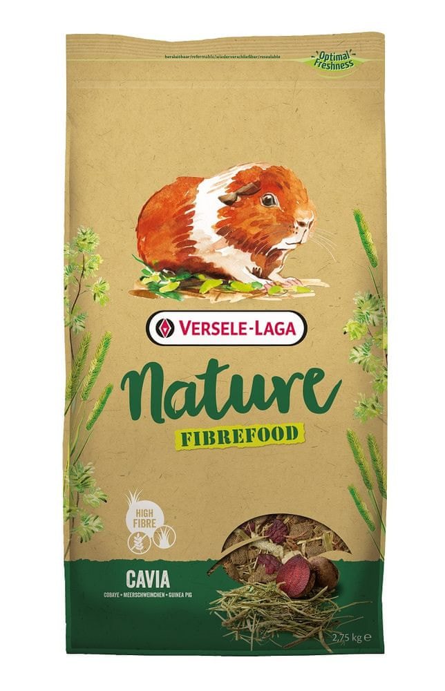 Versele Laga Nature Fiberfood Cavia 2,75 kg
