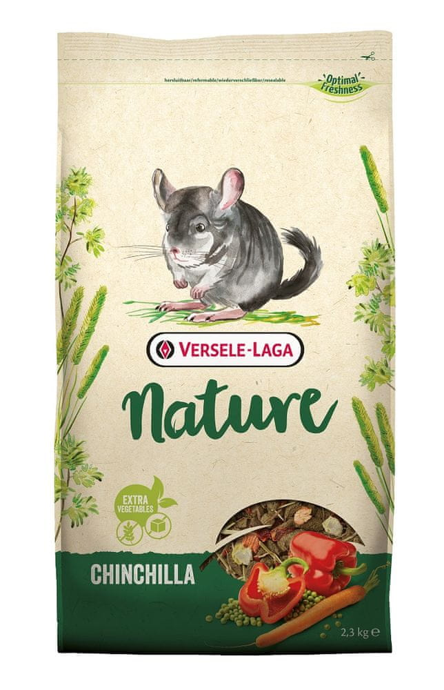 Versele Laga Nature Chinchilla - pro činčily 2,3 kg