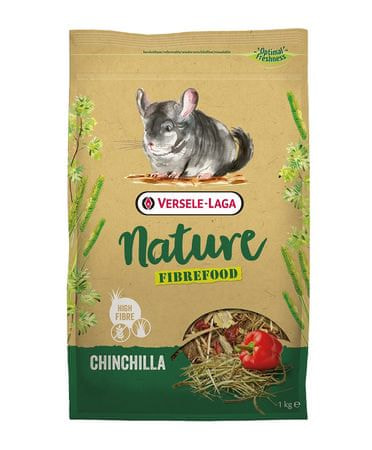 Versele Laga Nature Fiberfood Chinchilla 1 kg