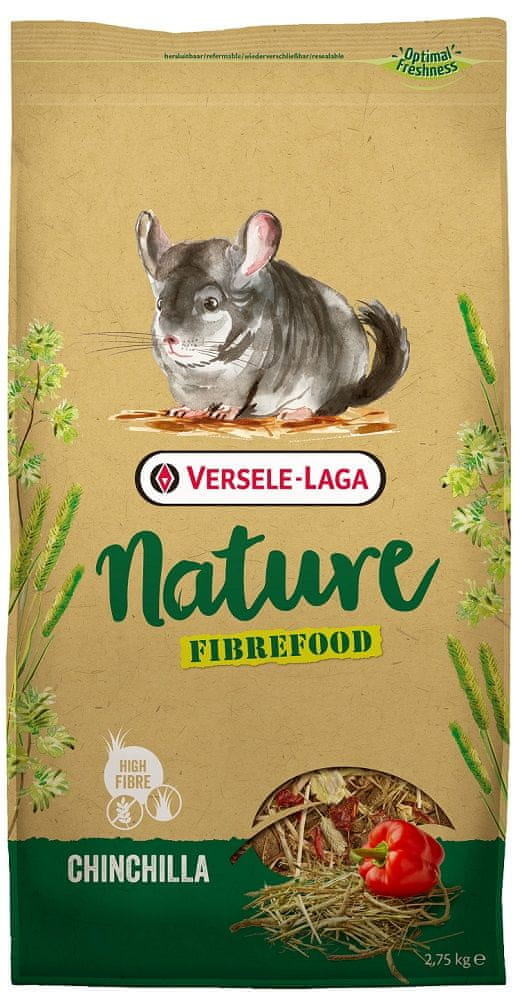 Versele Laga Nature Fiberfood Chinchilla 2,75 kg