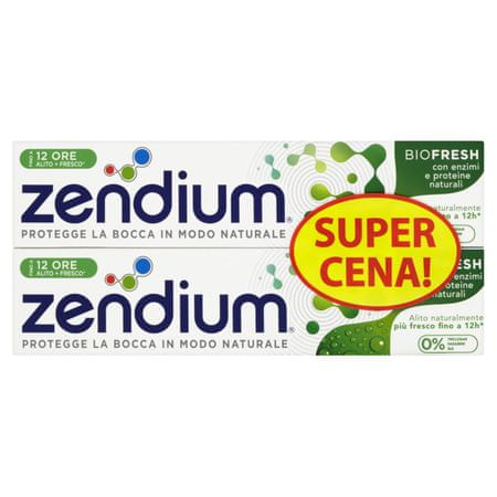 zendium Zubná pasta BioFresh duopack 2 x 75 ml