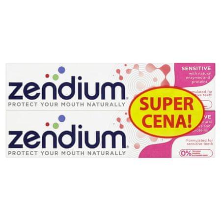zendium Fogkrém Sensitive duopack 2 x 75 ml