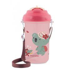 Canpol babies Cestovní sportovní láhev se slámkou a víčkem Koala
