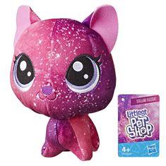 Littlest Pet Shop Plyšák s pohyblivou hlavou - Stellar Fuzzcat