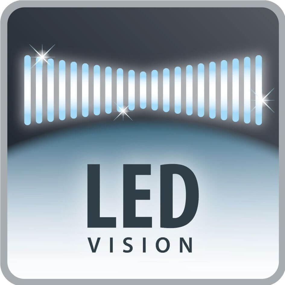 Rowenta RH6756WO Dual Force 2w1 - oświetlenie LED