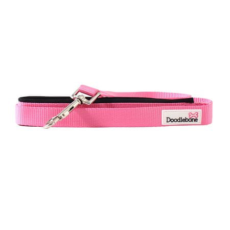 Doodlebone Smycz Pink rozmiar S