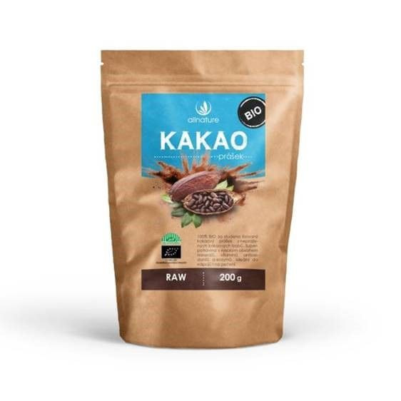 Allnature Kakaový prášek BIO 200 g