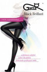 55c2fe56911 Gatta Černé dámské punčochové kalhoty Black Brillant Nero
