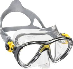 Cressi Maska BIG EYES EVOLUTION, potápěčské brýle, transparentní/žlutá
