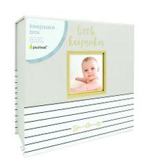 Pearhead Škatlica za posebne otroške spomini, siv