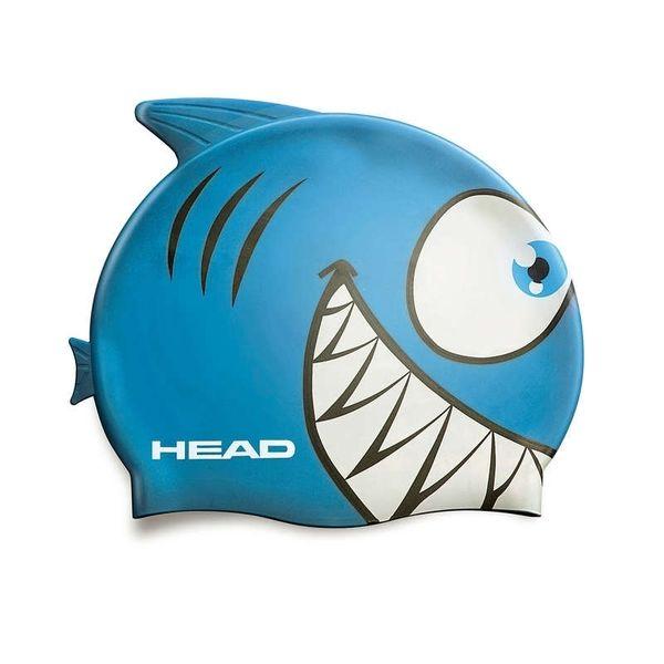 Head Čepice plavecká METEOR junior, ryba zelená