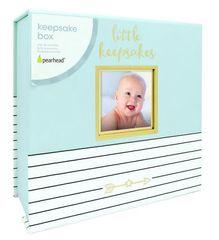 Pearhead škatlica za posebne otroške spomine - modra