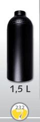 LUXFER Lahev hliníková 1,5 L průměr 111 mm 230 Bar