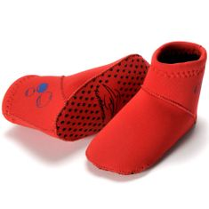 KONFIDENCE Škornji iz neoprena 6-12 mesecev, Rdeča