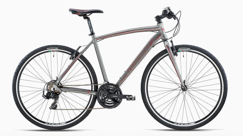 Bottecchia Lite Cross 310 TY500 šedá trekingové kolo, vel. L
