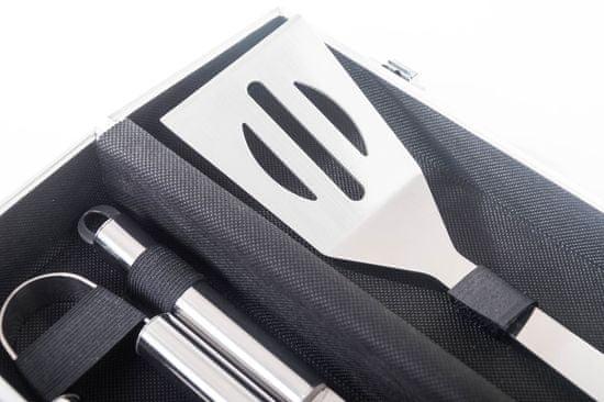 G21 oprema za žar, 3 kosi + aluminijasti kovček