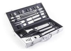 G21 Grillezési kellékkészlet 17 db-os, alumínium koffer
