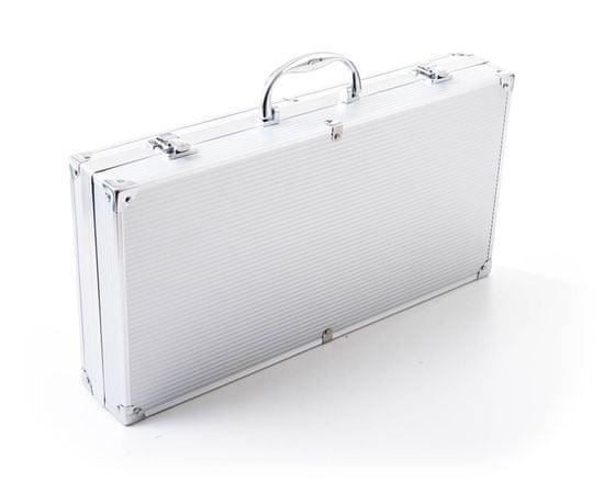 G21 Grilovací nářadí sada 17 ks, hliníkový kufr