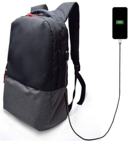 """Ewent Ewent ruksak za prijenosno računalo EW2529, 43,9 cm (17,3""""), USB port, crni"""