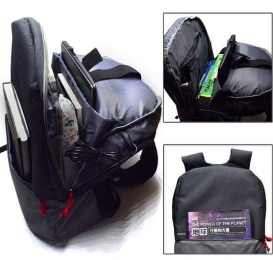 Ewent ruksak za prijenosno računalo EW2529, 43,9 cm (17,3 inča), USB priključak, crni