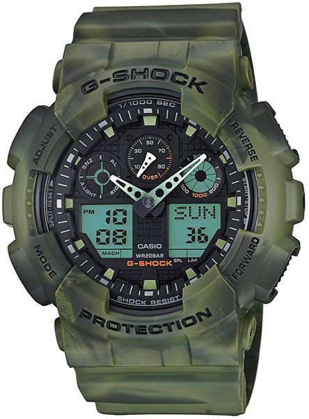 Casio The G/G-SHOCK GA 100MM-3A