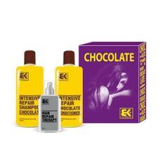 Brazil Keratin Dárková sada na suché a poškozené vlasy Chocolate