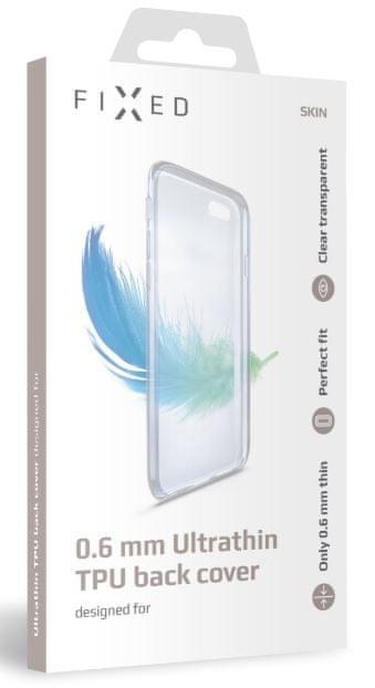 FIXED Ultratenké TPU gelové pouzdro Skin pro Honor 10 Lite, 0,6 mm, čiré FIXTCS-300